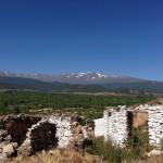 020 el entorno ruinoso del cerro de alquife con la belleza de sierra nevada